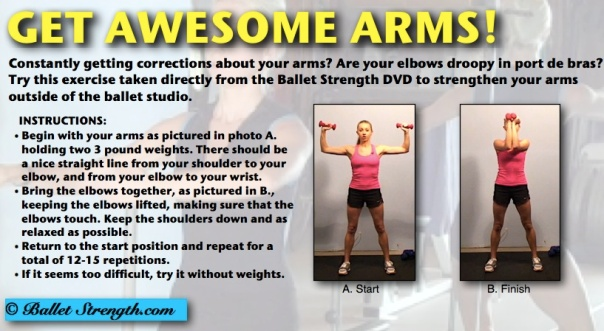 Ballet Strength Awesome Arms