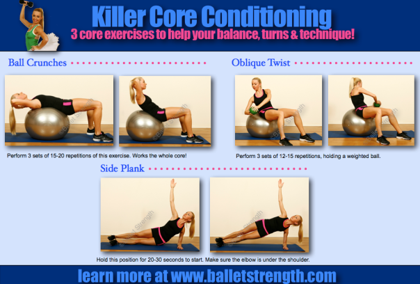 balletstrength core conditioning