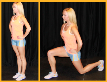 Ballet Strength Lunges