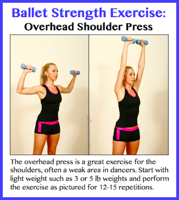 Ballet Strength Overhead Press